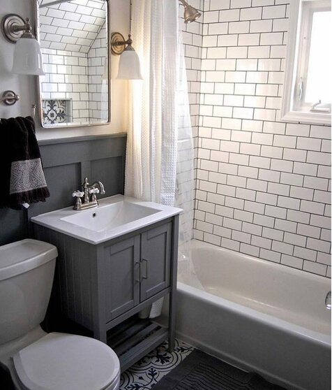 Small Bathrooms Cottage Style: Bathroom Design Ideas