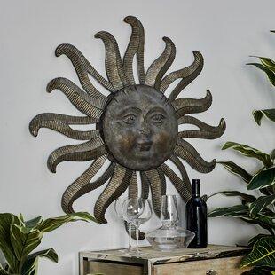 Traditional Celestial Sun Wall Decor