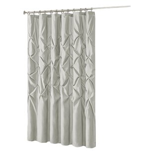Gray Silver Pink Shower Curtains Youll Love