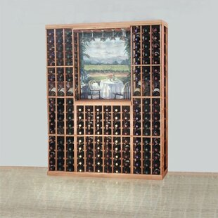 Designer Series 168 Bottle Floor Wine Rack