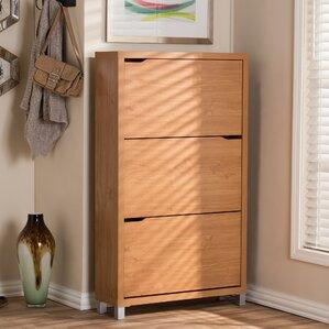 Shoe Storage Cabinets You'll Love | Wayfair