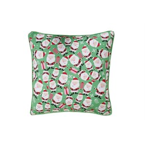 Santa Holiday Pillow Protector by Affluence Home Fashions