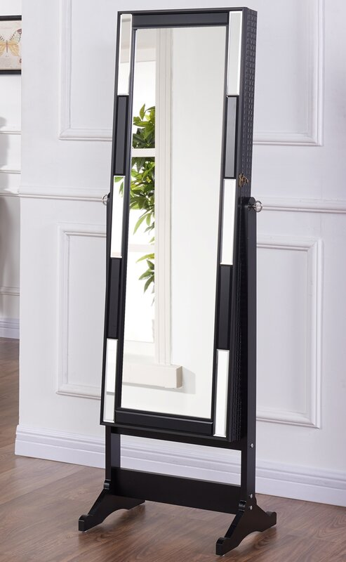 prestington schmuckschrank chloe mit spiegel. Black Bedroom Furniture Sets. Home Design Ideas