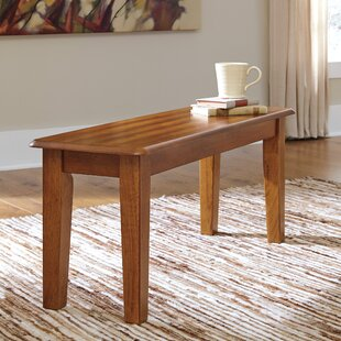 Kitchen dining benches youll love wayfair clarissa wood bench workwithnaturefo