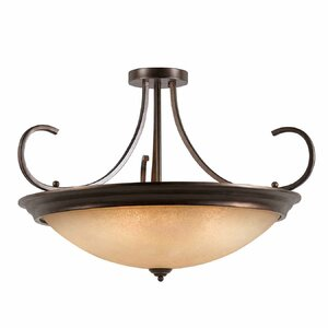 Edgewater 10-Light Semi Flush Mount