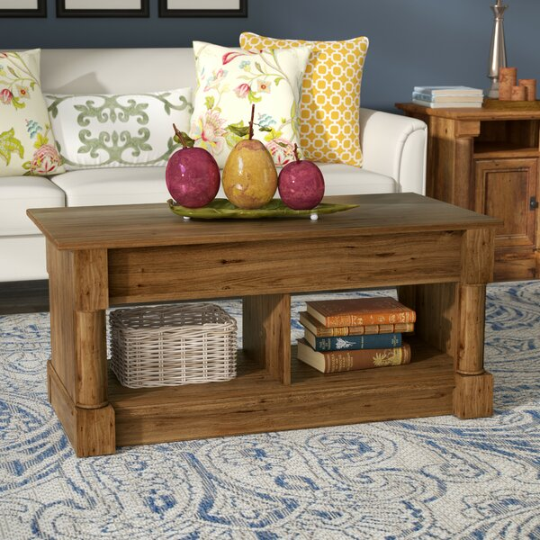 Henley Storage Coffee Table: Three Posts Henley Lift Top Coffee Table & Reviews