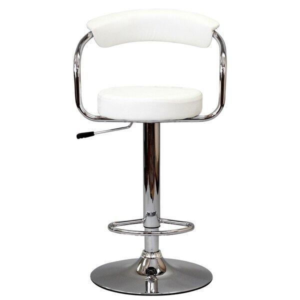 Modway Diner Adjustable Height Swivel Bar Stool Amp Reviews