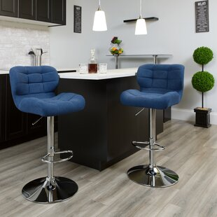Aurigae Adjustable Height Swivel Bar Stool
