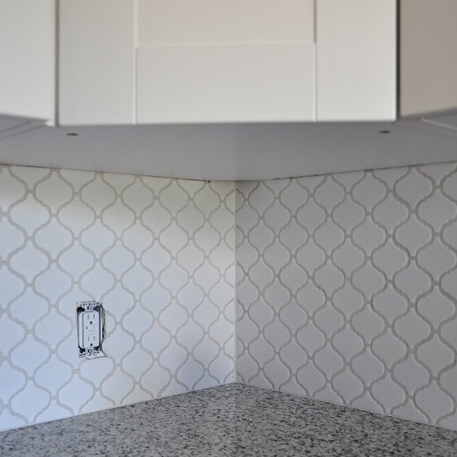 Kitchen Wall Tile Installation