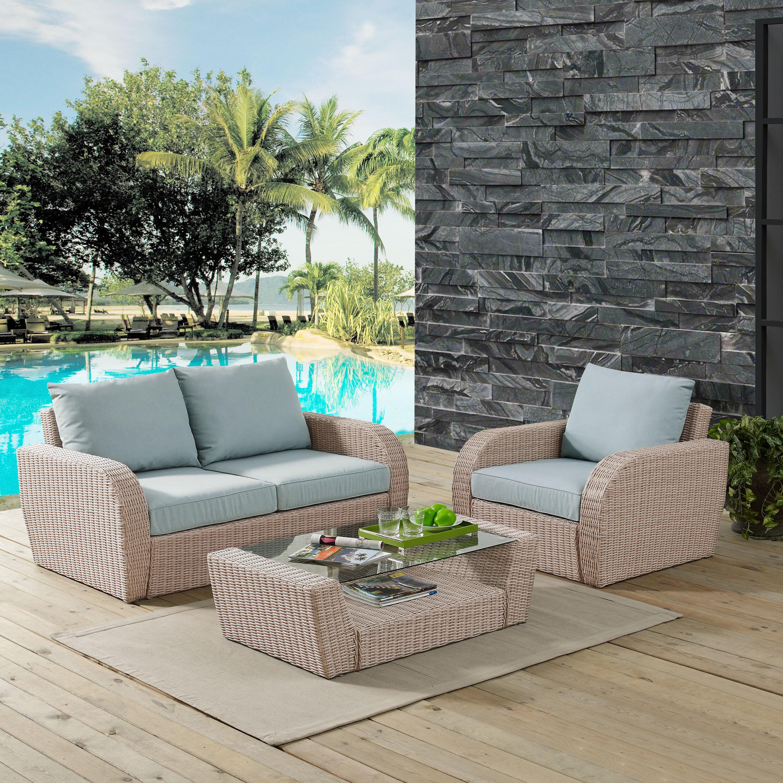 Highland dunes boomer 3 piece sofa set with cushions wayfair