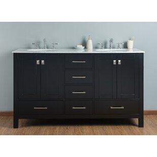 vanity 60 inch double sink. Save to Idea Board  Brayden Studio Ankney Double Bathroom Vanity Set 60 Inch Vanities You ll Love Wayfair