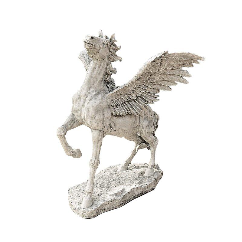Design Toscano Grand Pegasus Winged Horse Statue | Wayfair