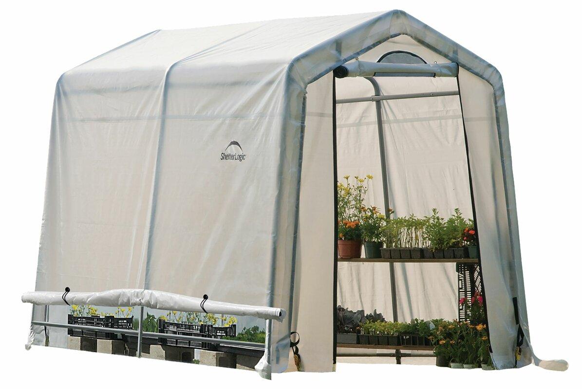 Shelterlogic 5 6 Greenhouse : Shelterlogic growit ft w d greenhouse reviews