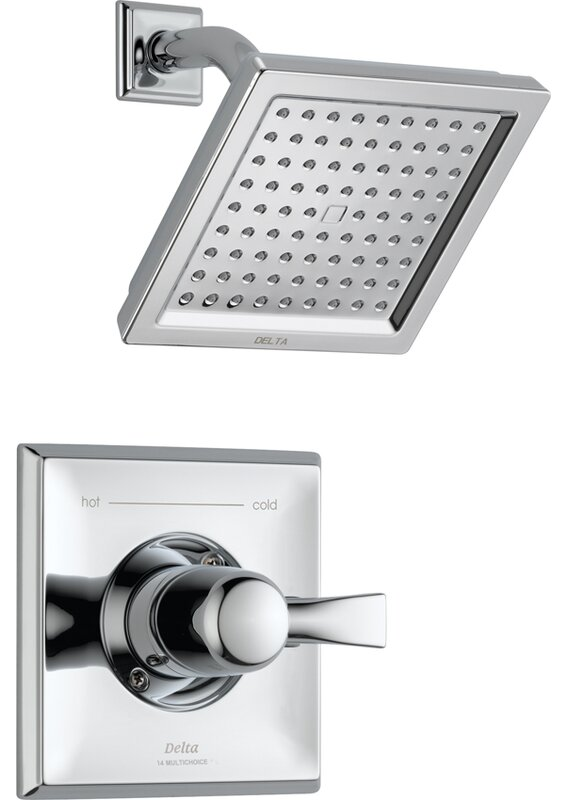Awesome Dryden™ Diverter Shower Faucet With Monitor