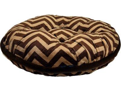 """Chevron Dog Bed Baylee Nasco Size: Tiny (20"""" L X 20"""" W)"""