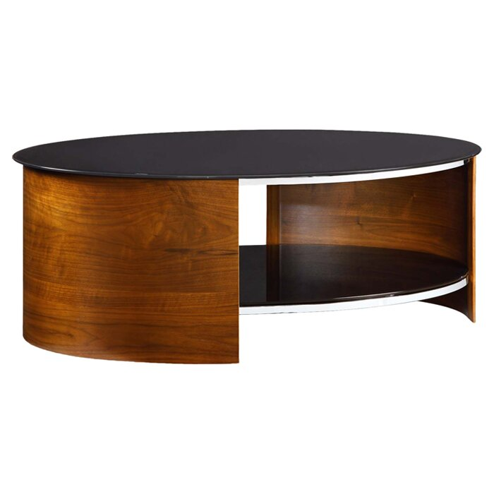 jual curve coffee table with storage & reviews | wayfair.co.uk