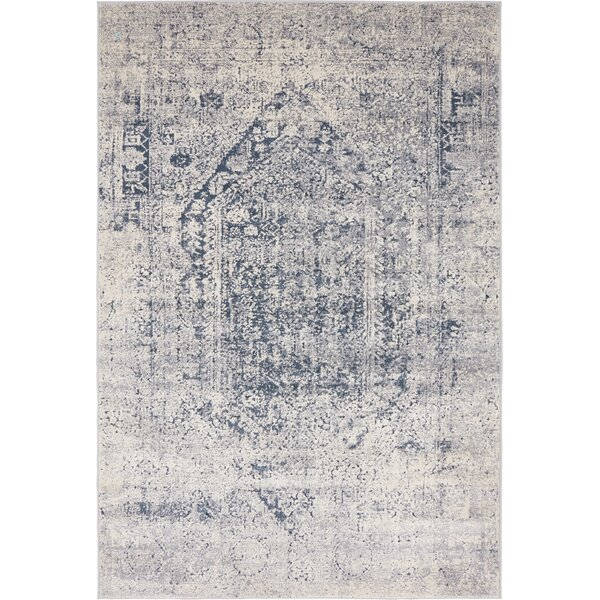 Nice Laurel Foundry Modern Farmhouse Abbeville Gray/Dark Blue Area Rug U0026 Reviews  | Wayfair