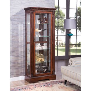 Emelle Lighted Curio Cabinet