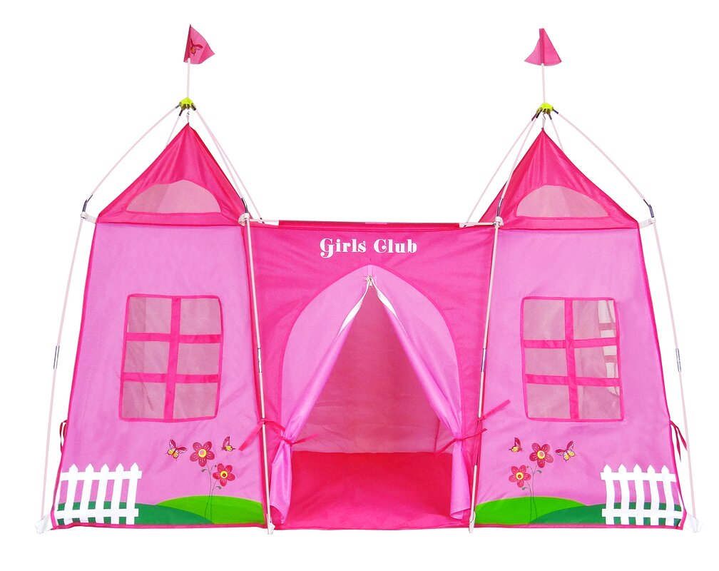 Girls Club Play Tent  sc 1 st  Wayfair : playhouse tent for girls - memphite.com