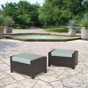 Northridge Ottoman With Cushion (Set Of 2)