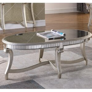 Derry Oval Coffee Table by Rosdorf Park