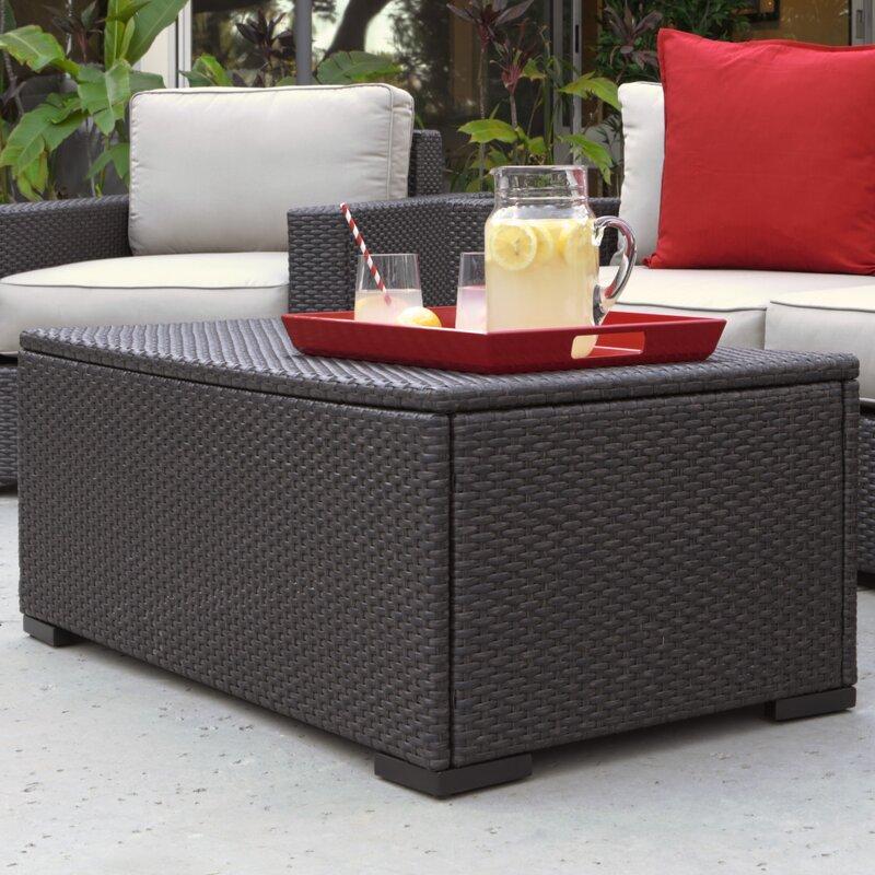 Laguna Outdoor Storage Coffee Table