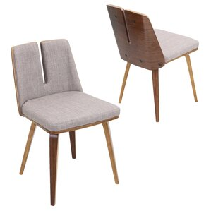 Atnip Unique Upholstered Side Chair by Mercury Row