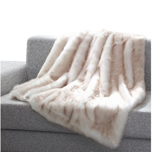 ad01d46d261 Faux Fur Pink Blankets & Throws You'll Love in 2019 | Wayfair