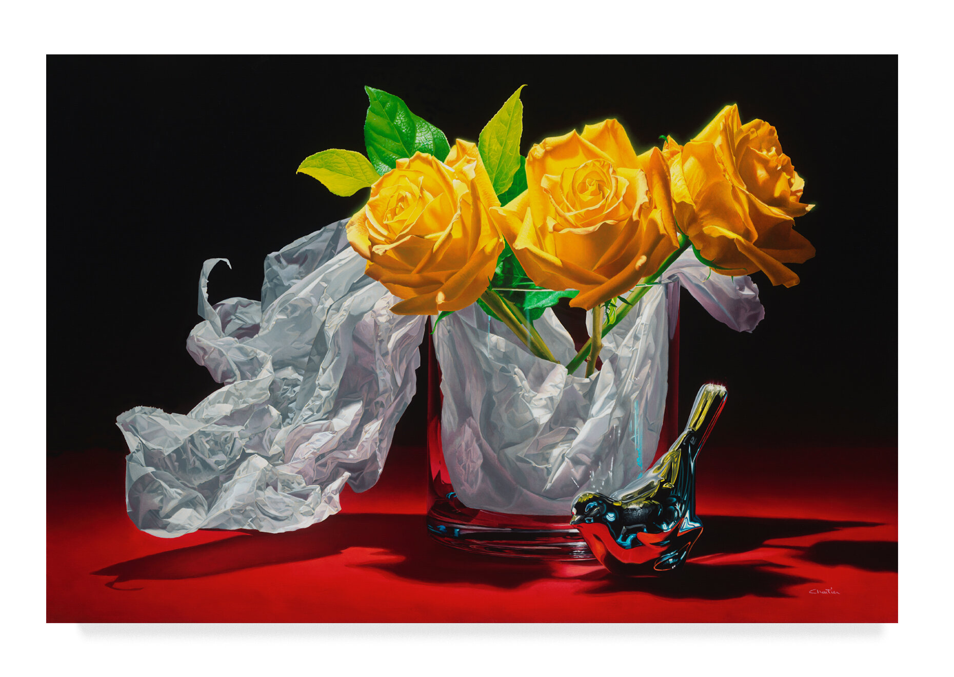 Trademark Art Yellow Dream Acrylic Painting Print On Wrapped