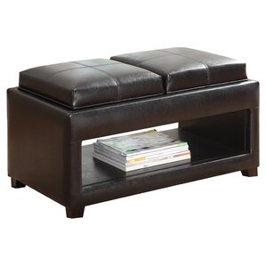 Clarkstown Flip Top Storage Ottoman by Alcott Hill