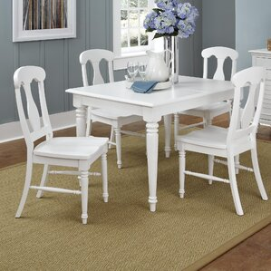 Harrison 5 Piece Dining Set by Beachcrest..