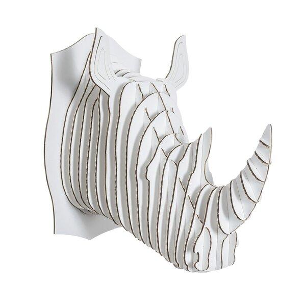 Rhino Head Wall Decor   Wayfair