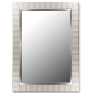 Parma Silver and Satin Nickel Wall Mirror