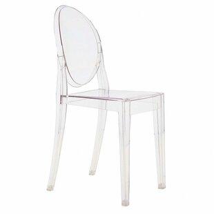 armless ghost chair wayfair