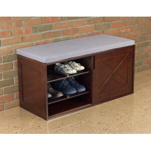 12 Shoe Storage Bench