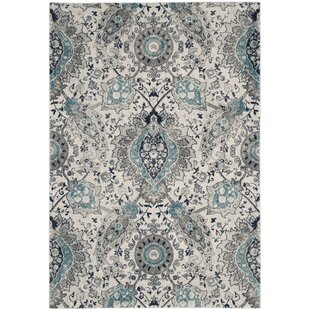 Grieve Light Gray Cream Area Rug