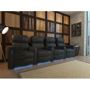 Turbo XL700 Home Theater Recliner (Row of 4) (Set of 4) by Octane Seating