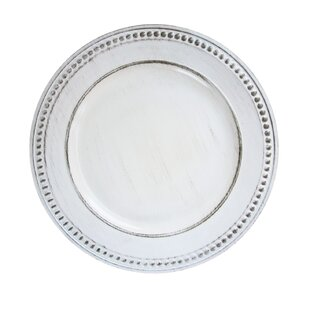 Melamine 14  Charger (Set of 4)  sc 1 st  Wayfair & Charger Plates Youu0027ll Love | Wayfair