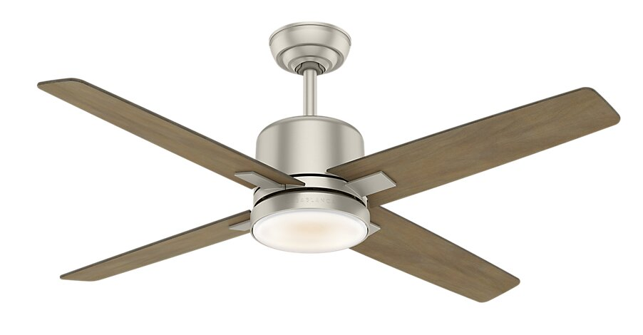 Casablanca fan 52 axial 4 blade ceiling fan reviews wayfair 52 axial 4 blade ceiling fan aloadofball Image collections
