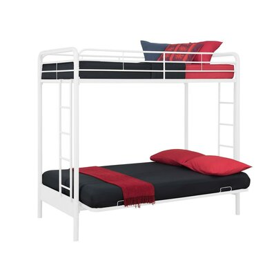 Viv Rae Sanders Twin Over Full Futon Bunk Bed Wayfair