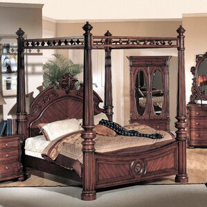 Poster Canopy Bed Custom Canopy Beds Design Ideas
