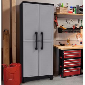 Plastic Cabinets plastic storage cabinets you'll love | wayfair