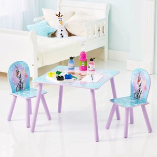Scout Children's 3 Piece Table and Chair Set by Viv   Rae