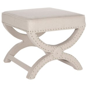 Weybossett Ottoman by Three Posts
