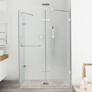 Monteray 32 x 48-in. Frameless Shower Enclosure with .375-in.