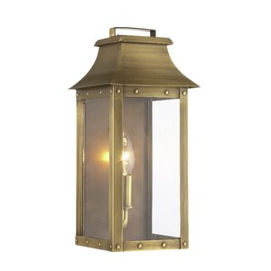 Hayes 1-Light Outdoor Flush Mount