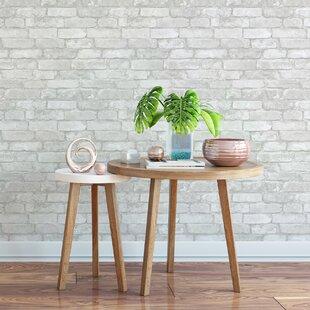Brick, Wood & Stone Wallpaper You'll Love in 2019   Wayfair