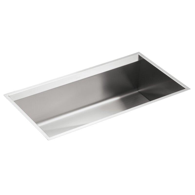Large Bowl Kitchen Sink K 3673 na kohler 8 degree 33 x 18 x 10 under mount large single 8 degree 33 x 18 x 10 under mount large single workwithnaturefo