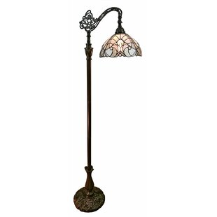 Adjustable floor reading lamp wayfair reading 62 floor lamp aloadofball Gallery