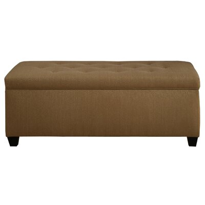 Winston Porter Paisleigh Upholstered Shoe Storage Bench Size: Small, Finish: Candice Fawn
